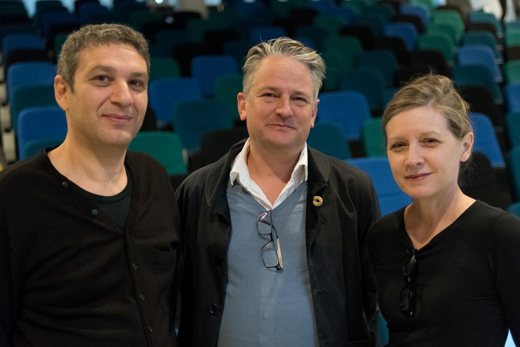 KTU Zooetika pranešėjai_Matthew Fuller, Dimitris Papadopoulos, Keller Ea...