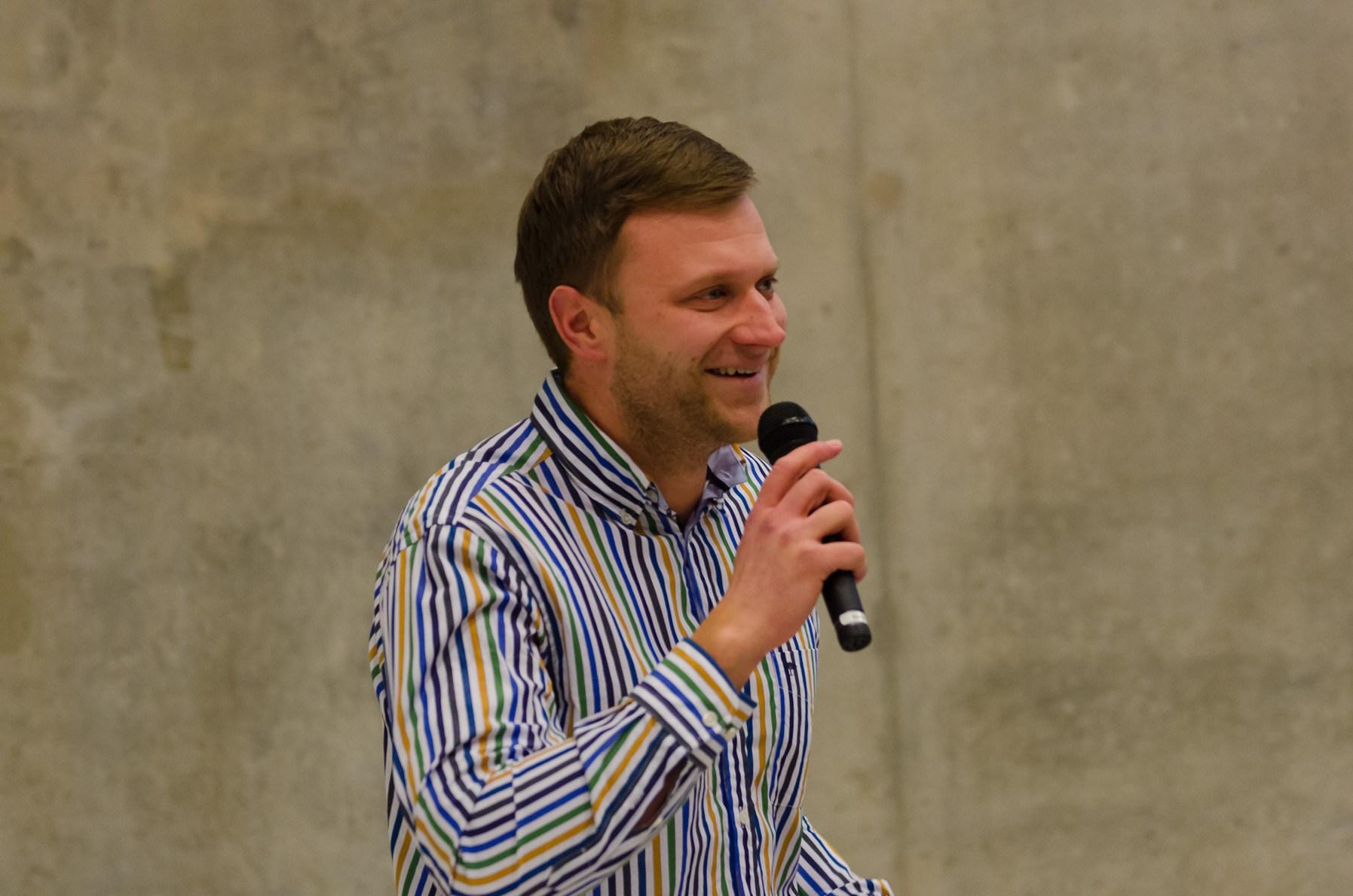KTU Startup Space vadovas Donatas Smailys