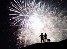 Firework hill