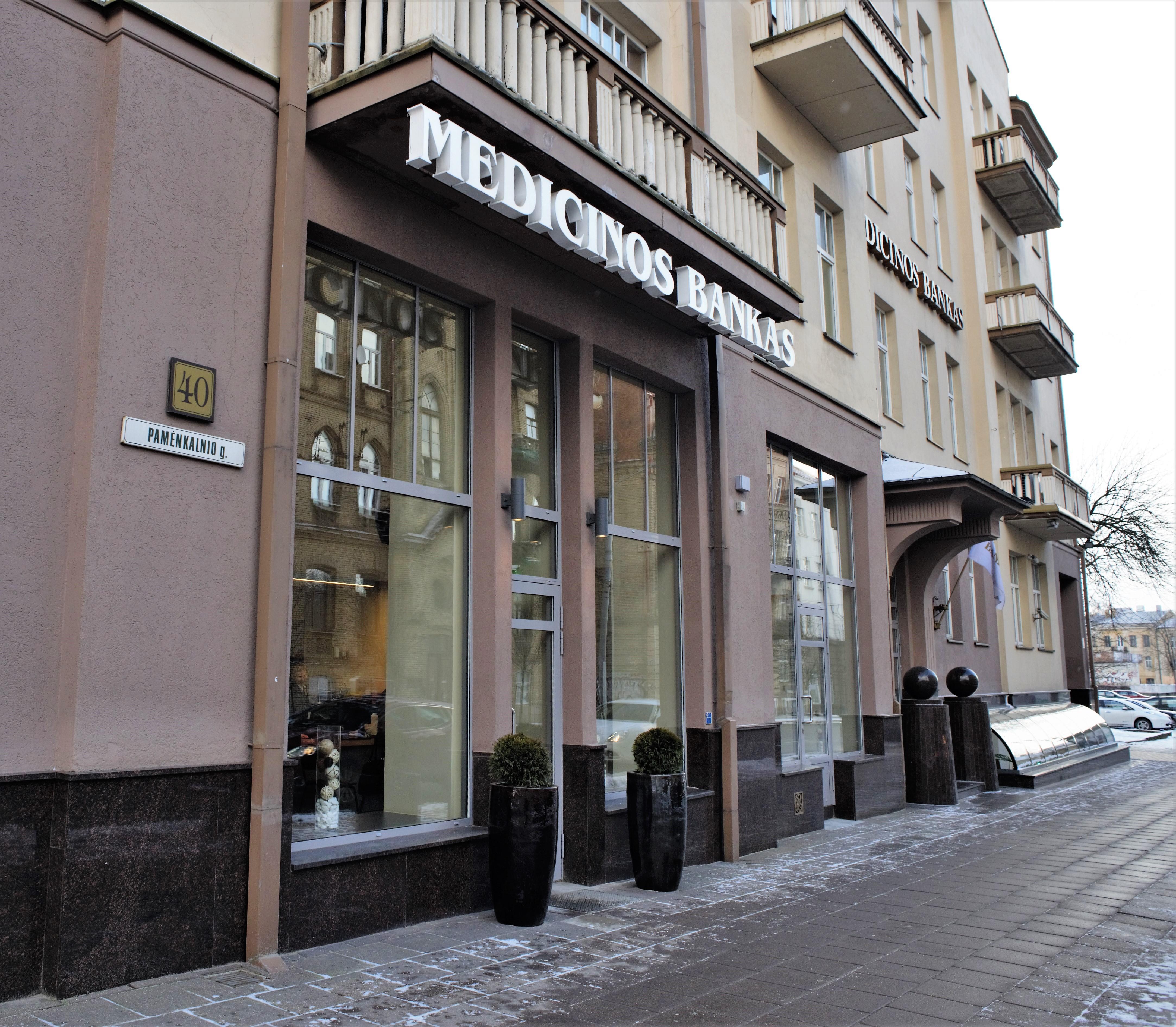 Medicinos bankas keičia nusistovėjusias paskolų suteikimo tradicijas verslui