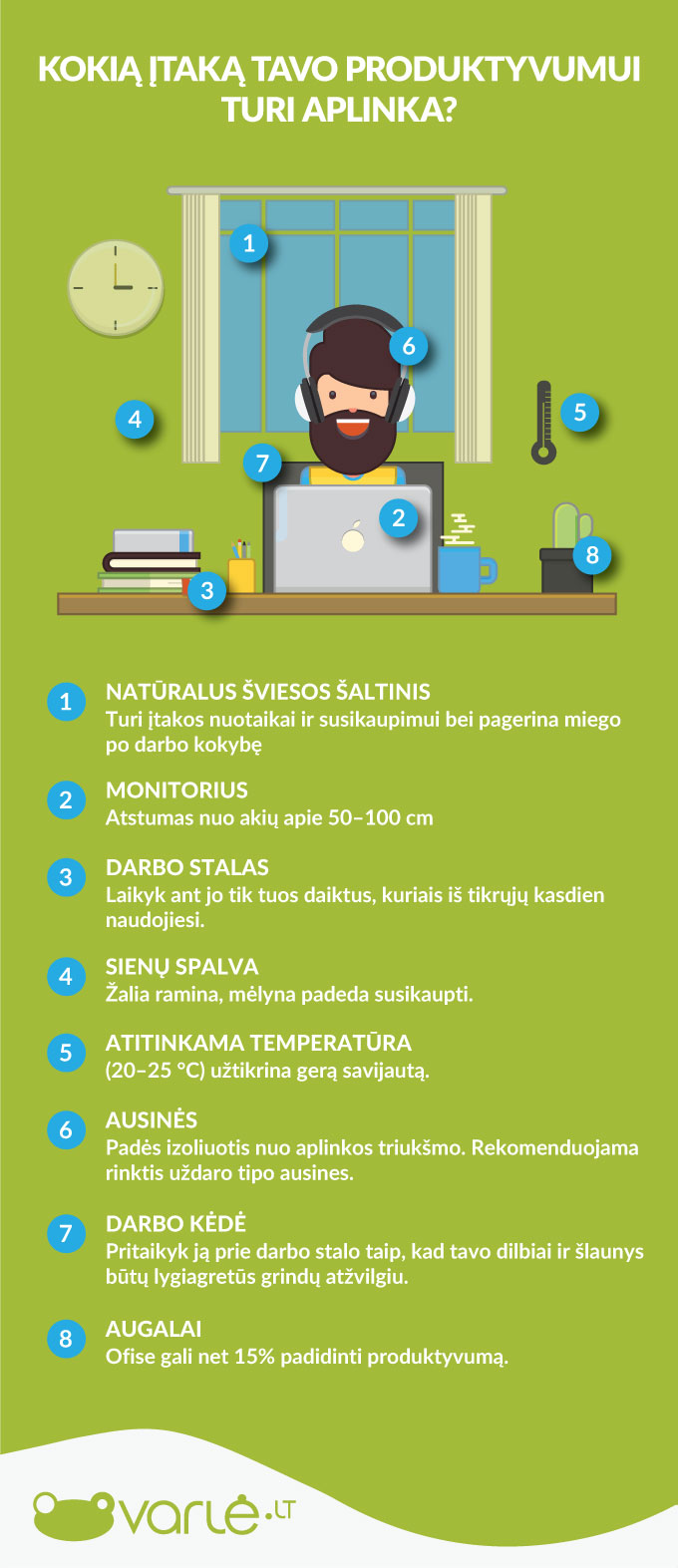 Kaip padidinti darbo kompiuteriu produktyvumą?