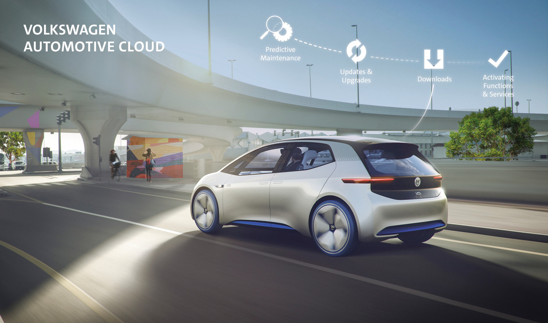 """Volkswagen"" ir ""Microsoft"" tapo strateginėmis partnerėmis"