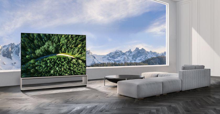 """LG Lietuvoje pradeda """"NanoCell 8K"""" televizoriaus ir pirmojo pasaulyje """"OLED 8K"""" televizoriaus pristatymą"""