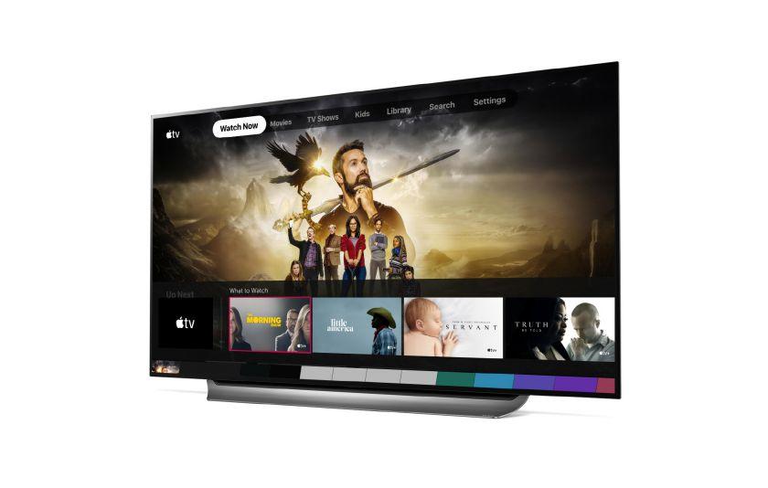 """2019 metų LG televizoriuose daugiau nei 80 šalių jau pasiekiama programa """"Apple TV"""" ir paslauga """"Apple TV+"""""""