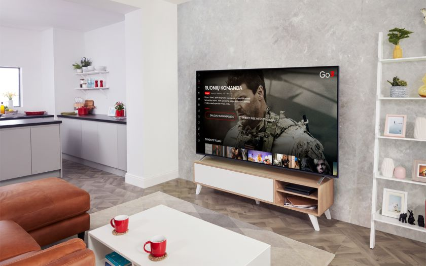 """Didžiausia vaizdo turinio platforma Baltijos šalyse """"Go3"""" jau pasiekiama LG televizoriuose"""