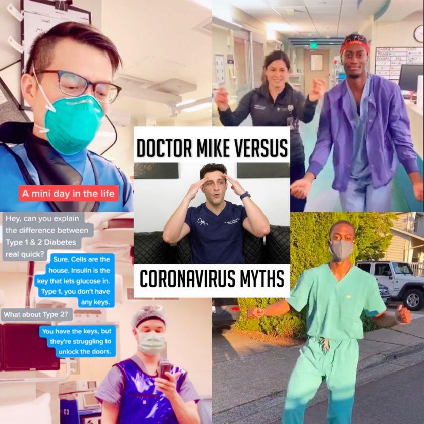 Netikėta karantino pasekmė – socialinius tinklus užkariauja medikai