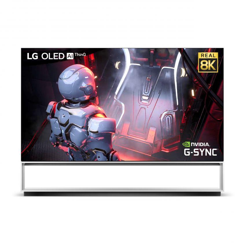 Kompiuterinės pramogos su LG 8K OLED televizoriais dėl pažangiausių funkcijų, skirtų žaidimams, perkeliamos į naują lygį