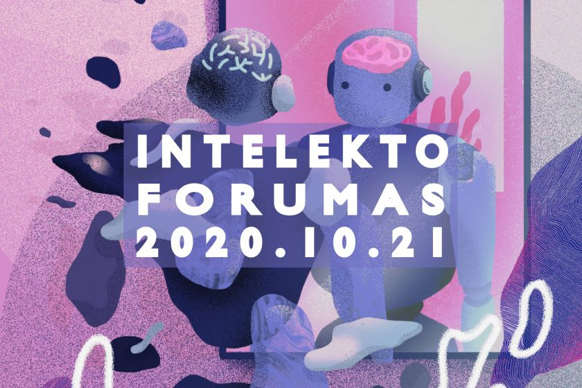 """Ateities švietimo iššūkius gvildens """"Intelekto forumas"""": dėmesio centre –  neuroedukacija, emocinis ir dirbtinis intelektas"""
