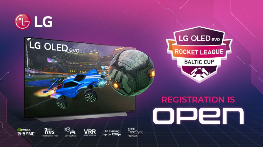 """Skelbiamas žaidimo """"Rocket League"""" Baltijos šalių turnyras"""